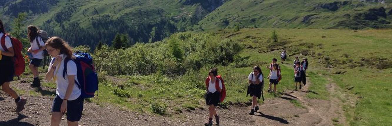 Unavacanzaunaesperienza campo avventura for Piani di coperta ad alta elevazione